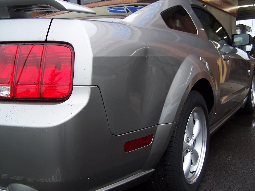 araba göçük onarımı görünümü iyileştirir